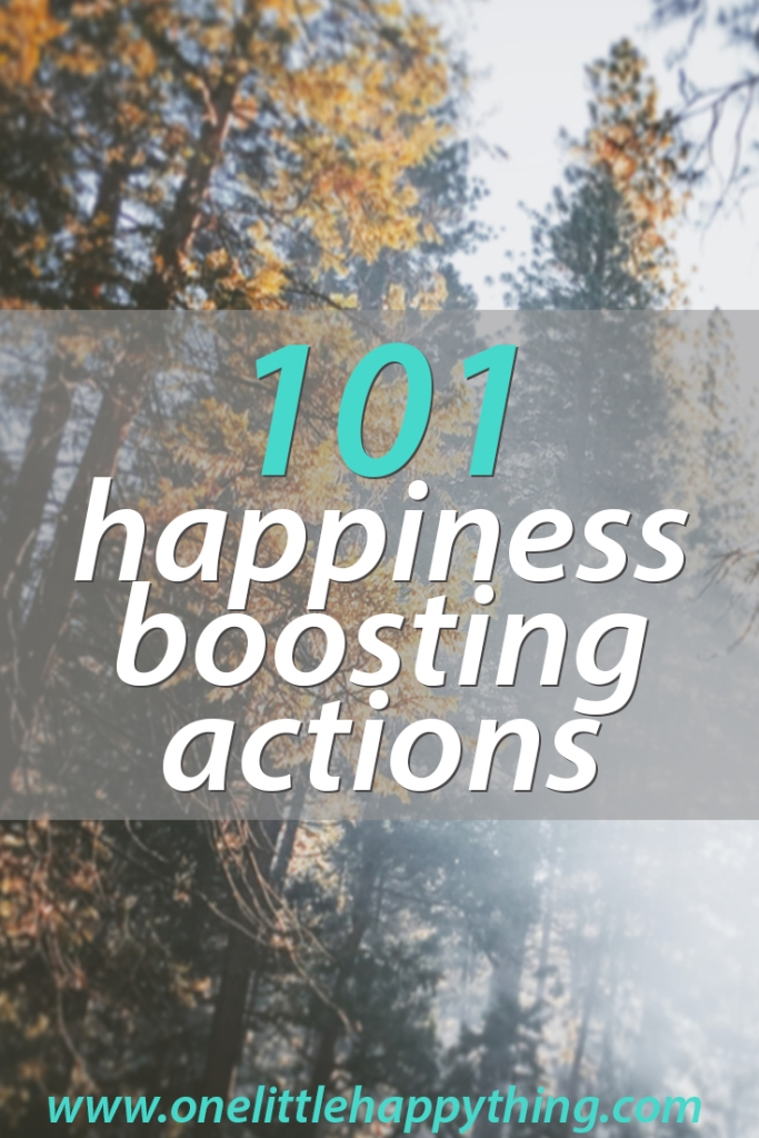 101 ideas for a happiness boost