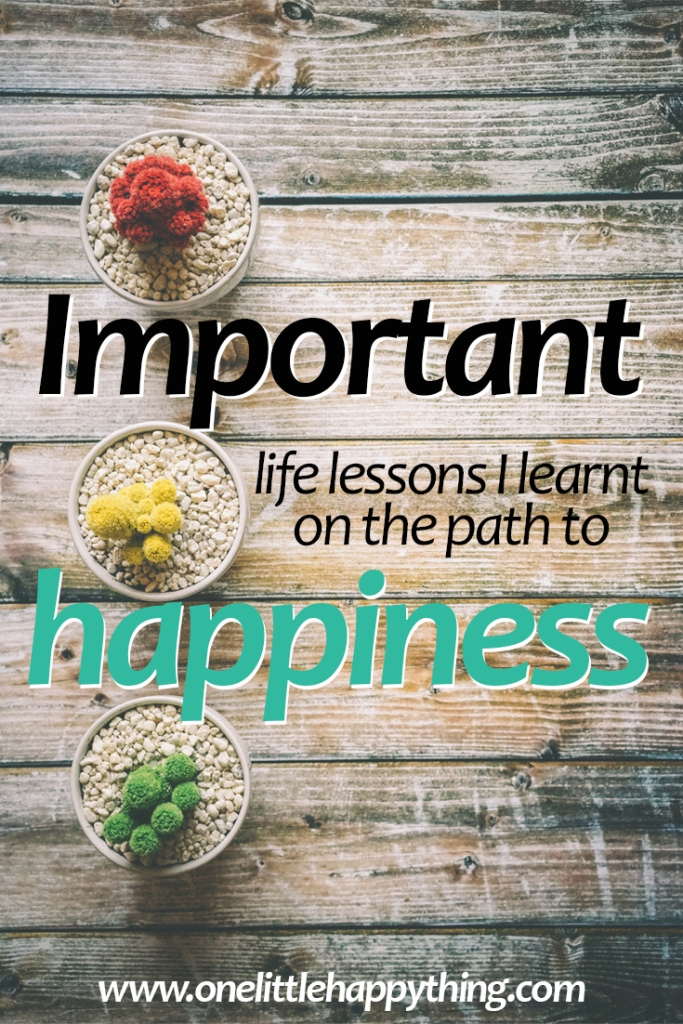 Life lessons from the path of happiness