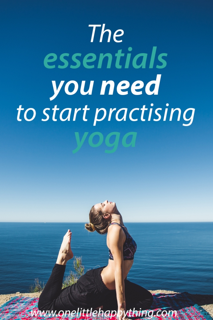 The essentials you need to start yoga
